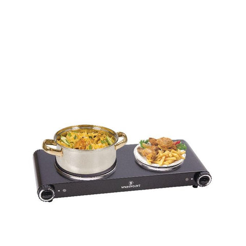 Westpoint WF-262 - Double Hot Plate - Black