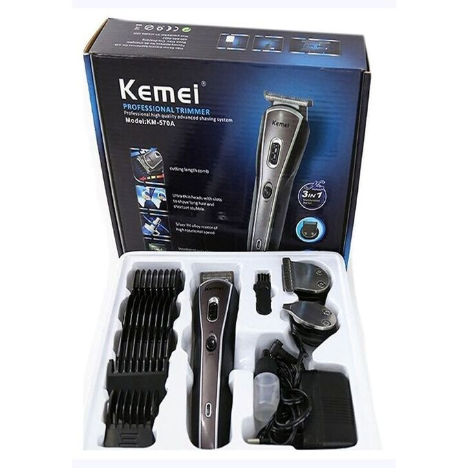 KM 570 a-Shavings Kit 3 in 1-Hair Clipper