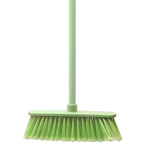 Green Brush Multi-Surface Broom