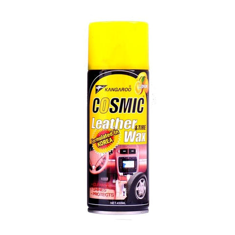 Car Leather & Tire Wax