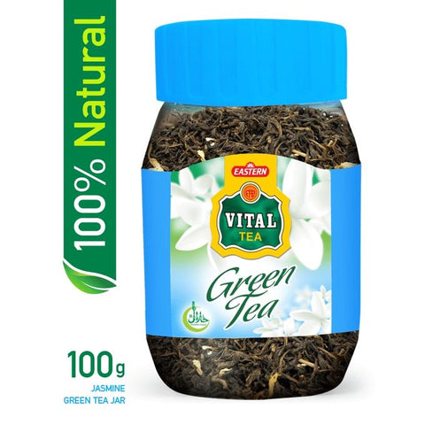 Vital Jasmine Green Tea Jar 100G