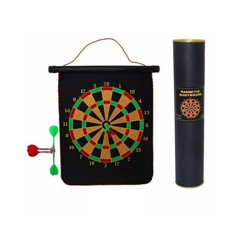 Magnetic Dartboard Set Game with 6 Darts
