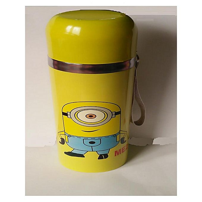 Minions Water Bottle- Yellow