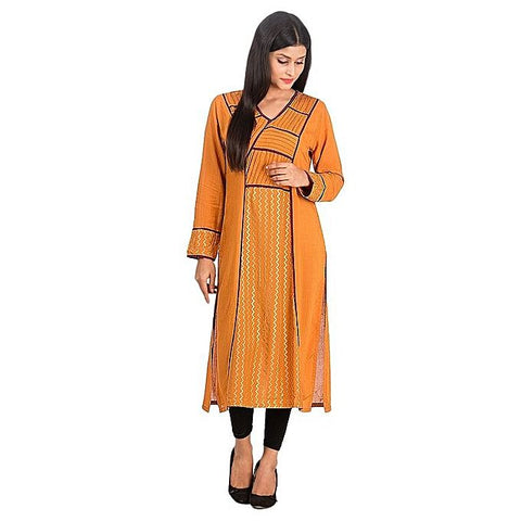 FC Golden Malai Kurta For Women