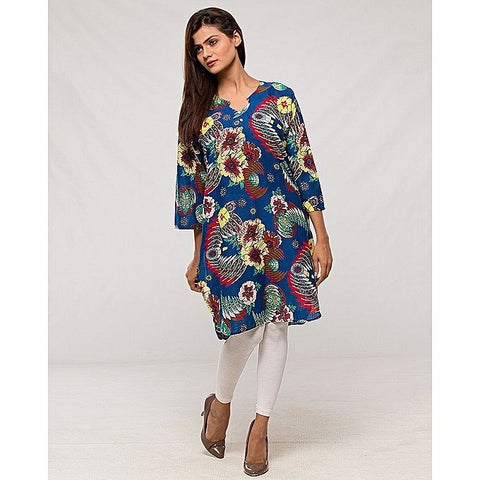FC Multicolour - Lawn Printed Kurta for Women