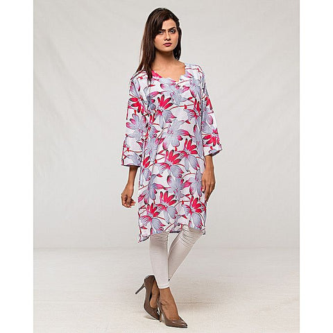 FC Multi- Lawn Printed Kurta for Women