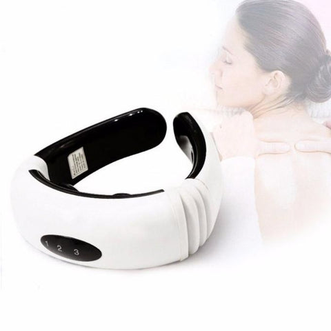 Neck Massager Magnetic Cervical Vertebra Therapy
