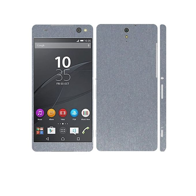 Sony Xperia C5 Ultra 3M Brushed Metal Texture Mobile Skin - Grey