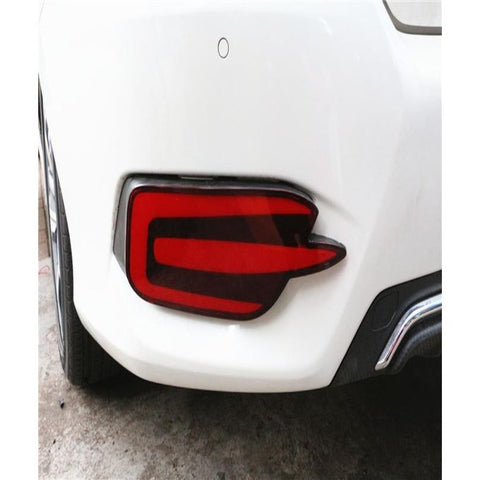 LED DRL Rear Bumper Tail Light Fog Lamp