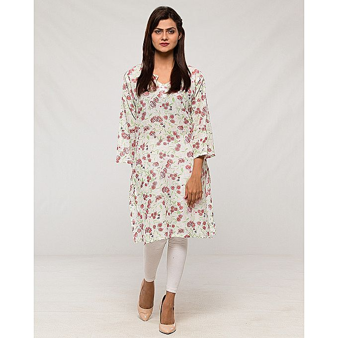 FC Lawn Printed Kurta for Women