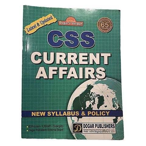 CSS Current Affairs Book