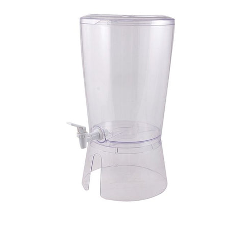 Juice and Water Dispenser - Transparent White