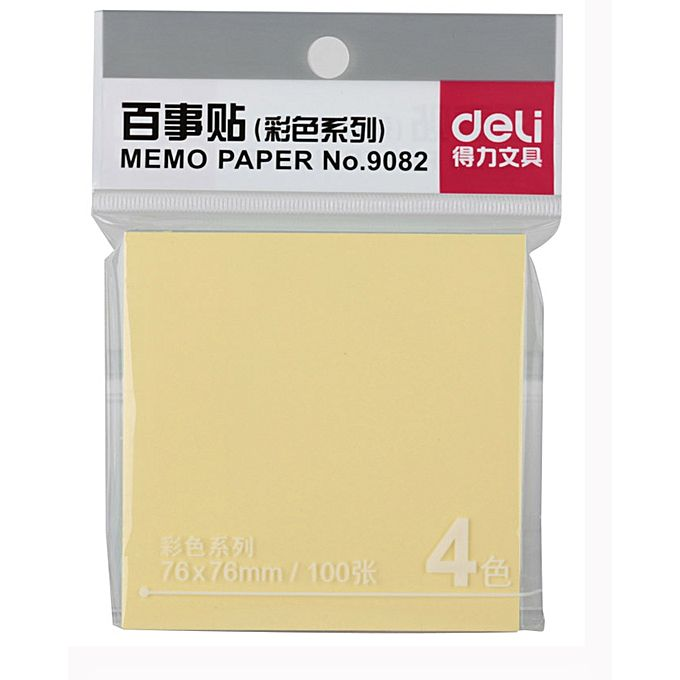 Deli Sticky Note 9082