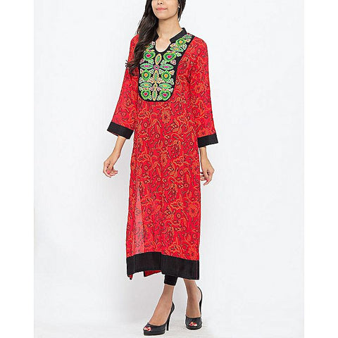 FC Malai Lawn Printed Screen for Women