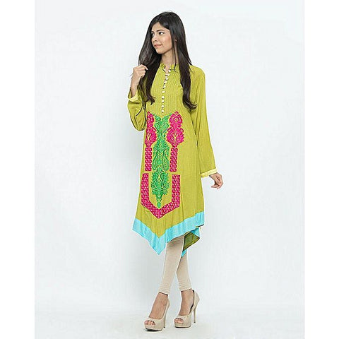 FC Malai Lawn Pleats & Embroidery for Women