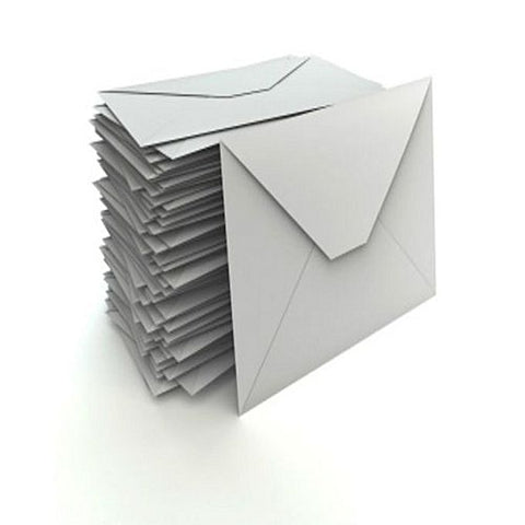 Pack of 50 Envelope - White