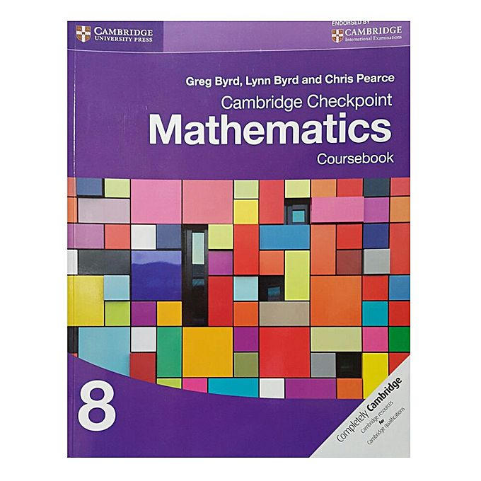Cambridge Checkpoint Mathematics Coursebook - 8