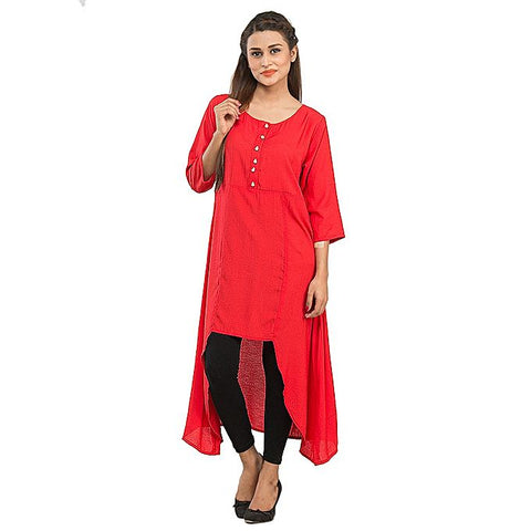 FC Malai Kurta with Pearl Button for Women
