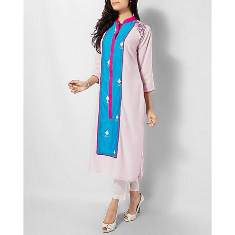 FC Malai Lawn Kurta with Embroidery for Women