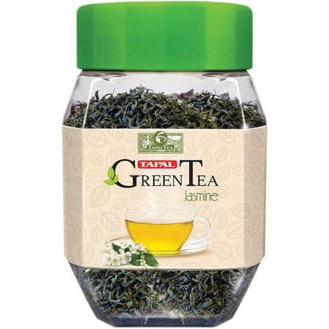Tapal Green Tea Jasmine 100gm 40 Jar Pack