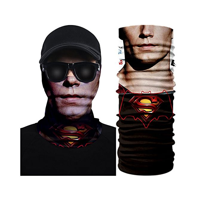 Superman 3D Creative Face Mask Bandana
