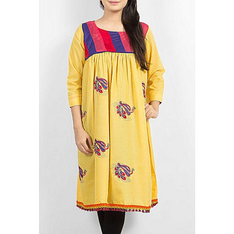 FC Printed Lawn Kurta Tunic for Women