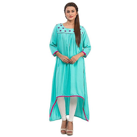 FC Malai Kurta Front Embroidery for Women