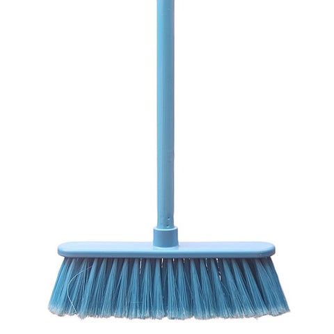 Brush Multi-Surface Broom Blue