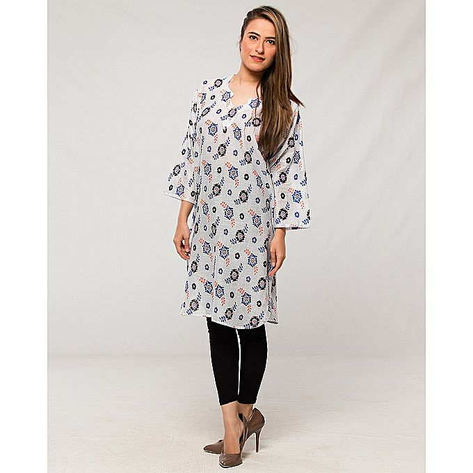 FC Multi Lawn Printed Kurta for Women