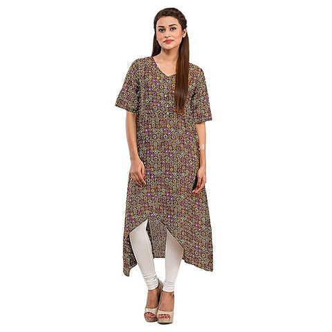 FC Basic Kurta with Front Button for Women