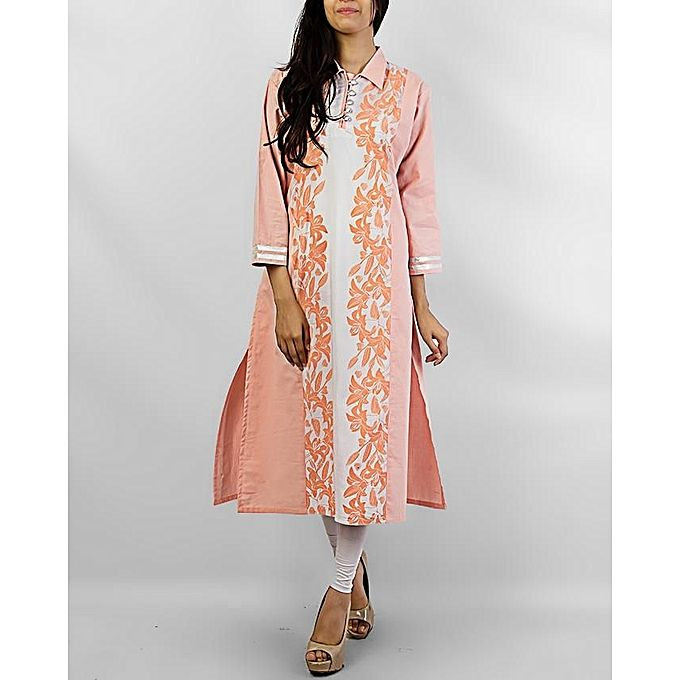FC Print Malai Lawn Kurta for Women