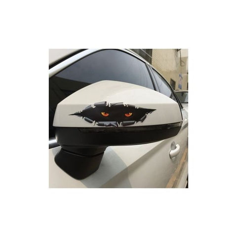 Pack OF 2-3 D Cat Eye Car Body Sticker
