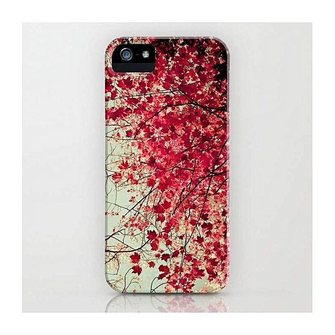 Autumn Inkblot Mobile Cover