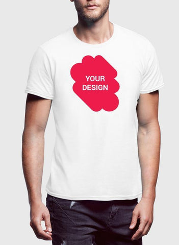 Design Your Own Half Sleeves T-Shirt