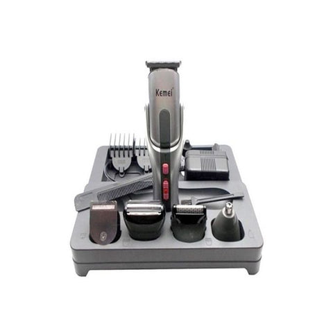 KM-680 A 8 in 1 Grooming Kit Shaver & Trimmer for Men