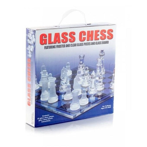 Glass Chess Game - Multicolor