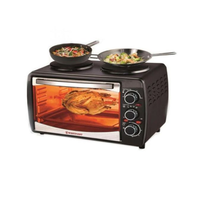 Westpoint WF-3000RKH - Deluxe Grilling Oven Toaster - Black