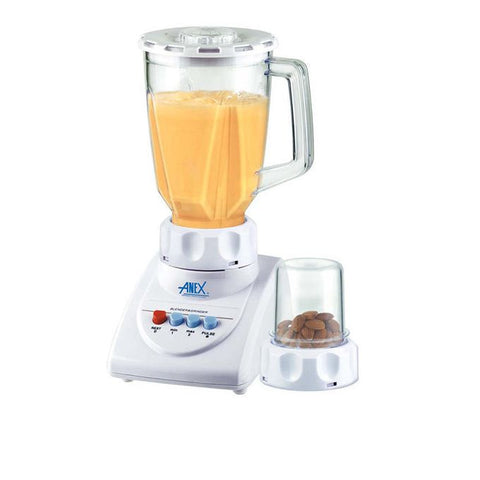 Anex AG-690 - 2 in 1 Blender & Grinder - 300W - White