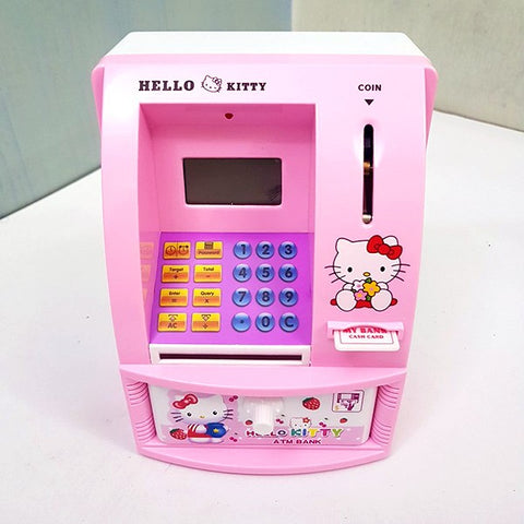 Digital ATM Machine With Credit Card for Kids
