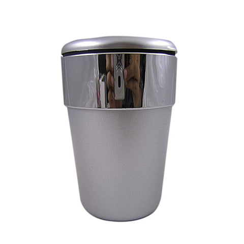 C Mart Silver Strip Cup Holder - Ashtray
