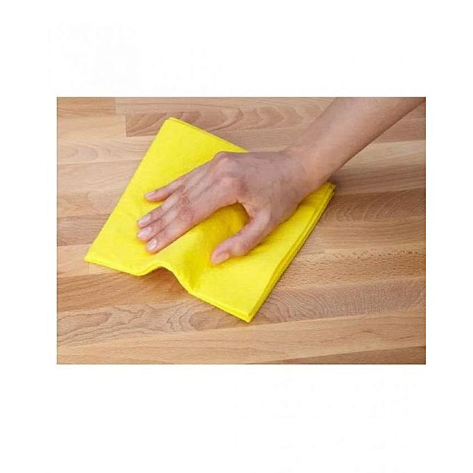 Multi Purpose Cleaning Cloth - Yellow