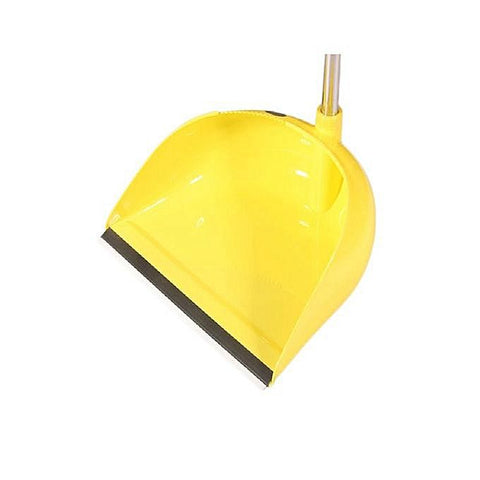 Broom And Dust Pan - Yellow