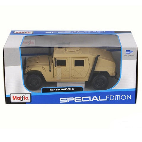 Yellow Hummer Humvee Car Toy