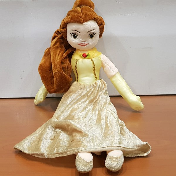 Soft Stuffed Princess Belle Figure