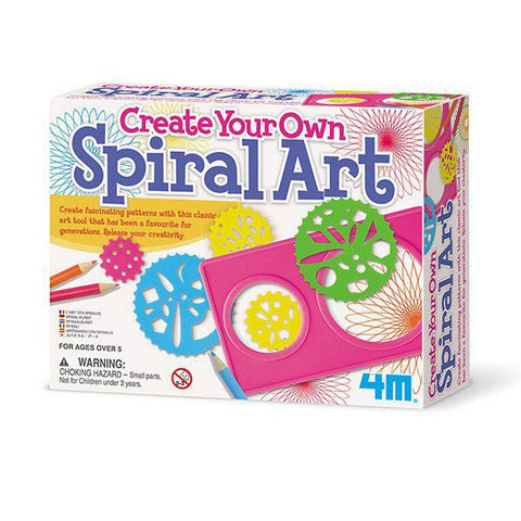 Create Your Own Spiral Art Set for Kids