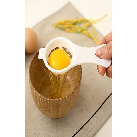 Egg Yolk Separator - White