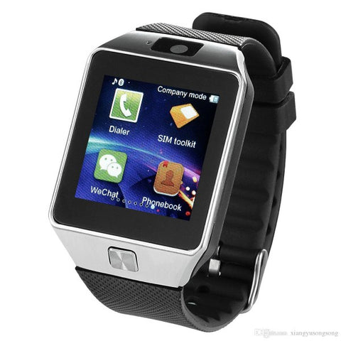 DZ-09 Bluetooth Smart Watch With Camera & Sim