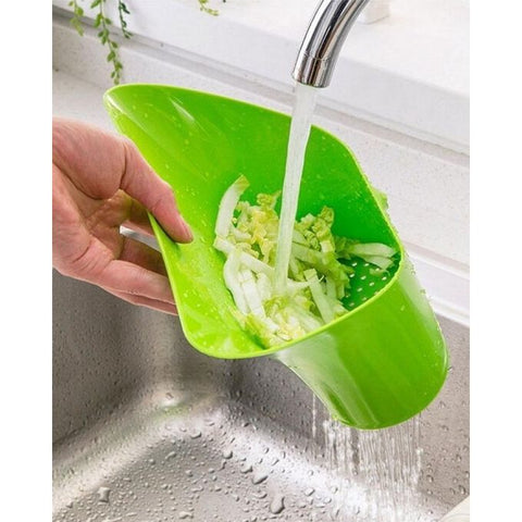 Cutting Board Chopping Basin Drain Basket