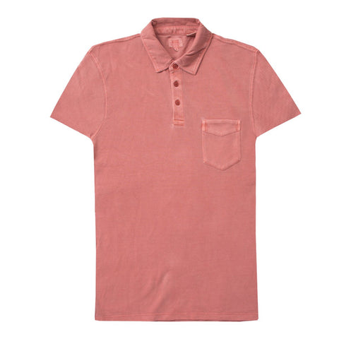 Short Sleeves Coral Polo Shirt for Men