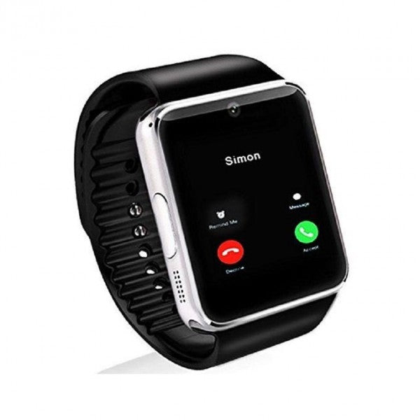 Smart Watch GT08- GSM and Bluetooth - Silver